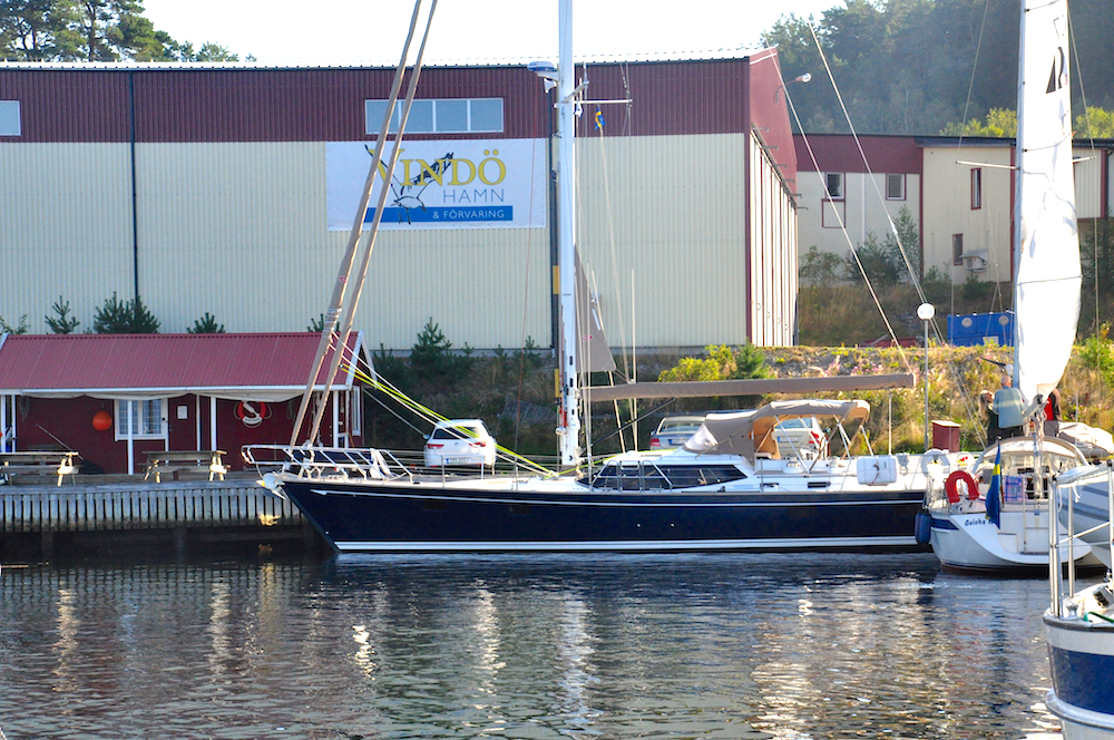 Marina at Adams Boatcare | Cruising Attitude Sailing Blog - Discovery 55