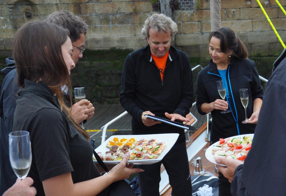 Christening Freja | Cruising Attitude Sailing Blog - Discovery 55
