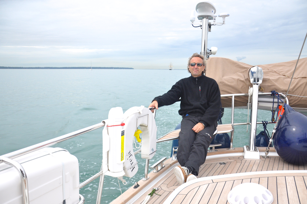 Freja in the English Channel | Cruising Attitude Sailing Blog - Discovery 55
