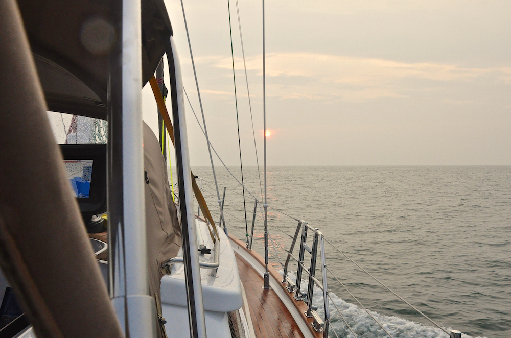 North Sea | Cruising Attitude Sailing Blog - Discovery 55