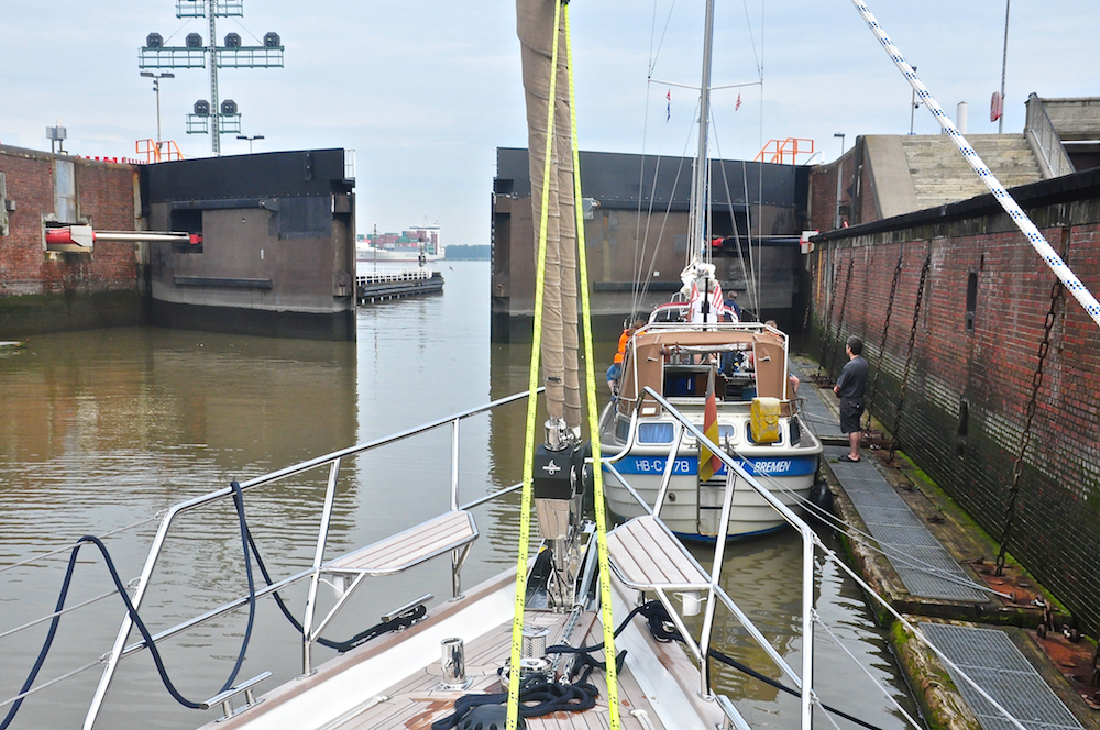 Brunsbüttel | Cruising Attitude Sailing Blog - Discovery 55