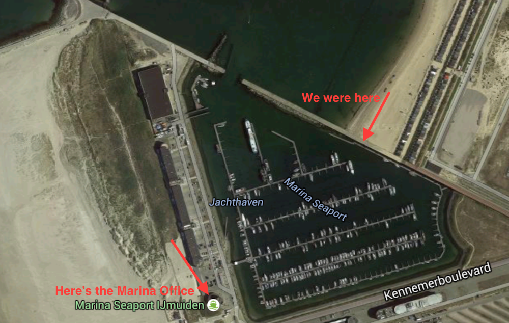 IJmuiden Seaport Marina | Cruising Attitude Sailing Blog - Discovery 55