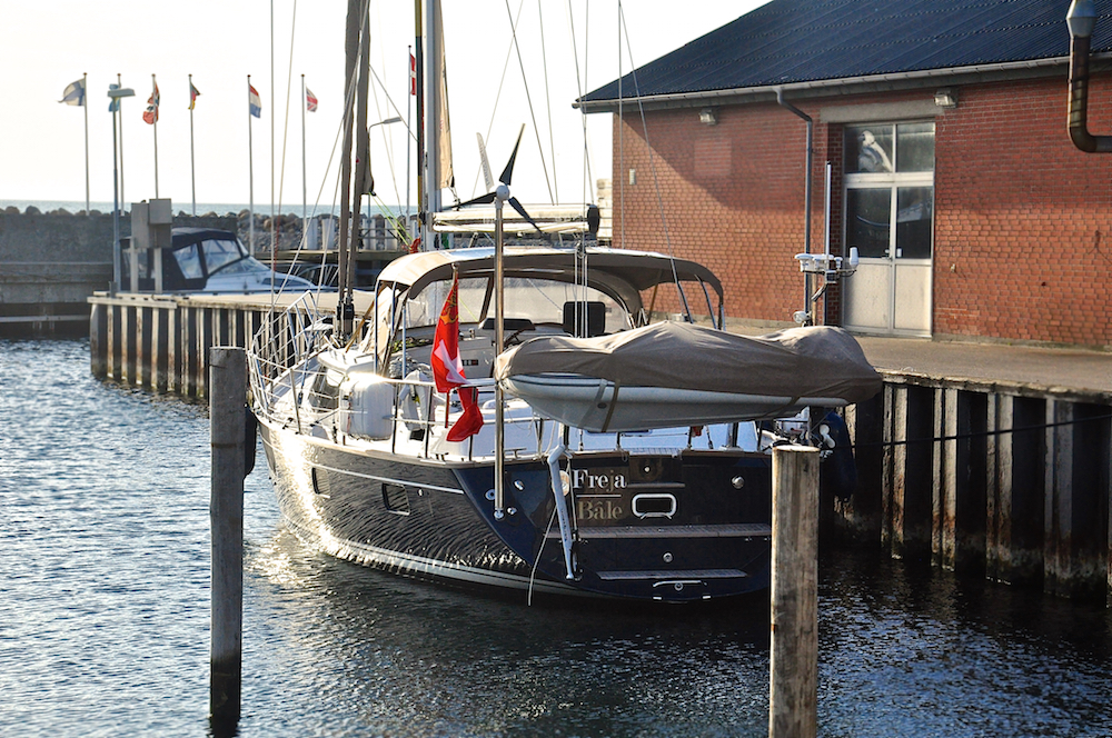 Bønnerup fishing harbour and marina in Denmark | Cruising Attitude Sailing Blog - Discovery 55