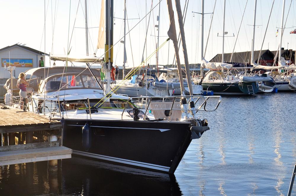 Kullavik marina, Sweden | Cruising Attitude Sailing Blog - Discovery 55