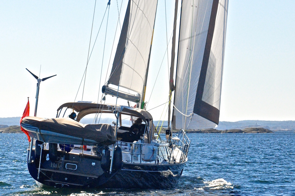 Sailing to Marstrand | Cruising Attitude Sailing Blog - Discovery 55