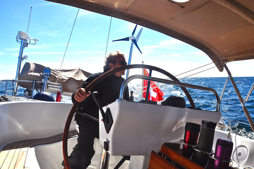 Sailing towards Kullavik on the west coast of Sweden | Cruising Attitude Sailing Blog - Discovery 55