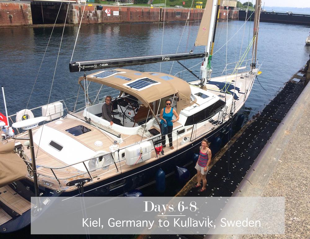 Kiel Canal | Cruising Attitude Sailing Blog - Discovery 55