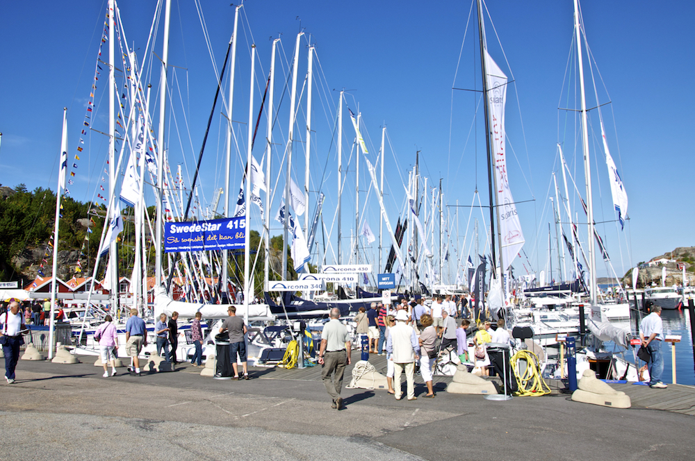 "The search for out dream boat begins. The Orust Boat Show. Called ""Öppna Varv"" in swedish, the show takes place every August on the island of Orust 