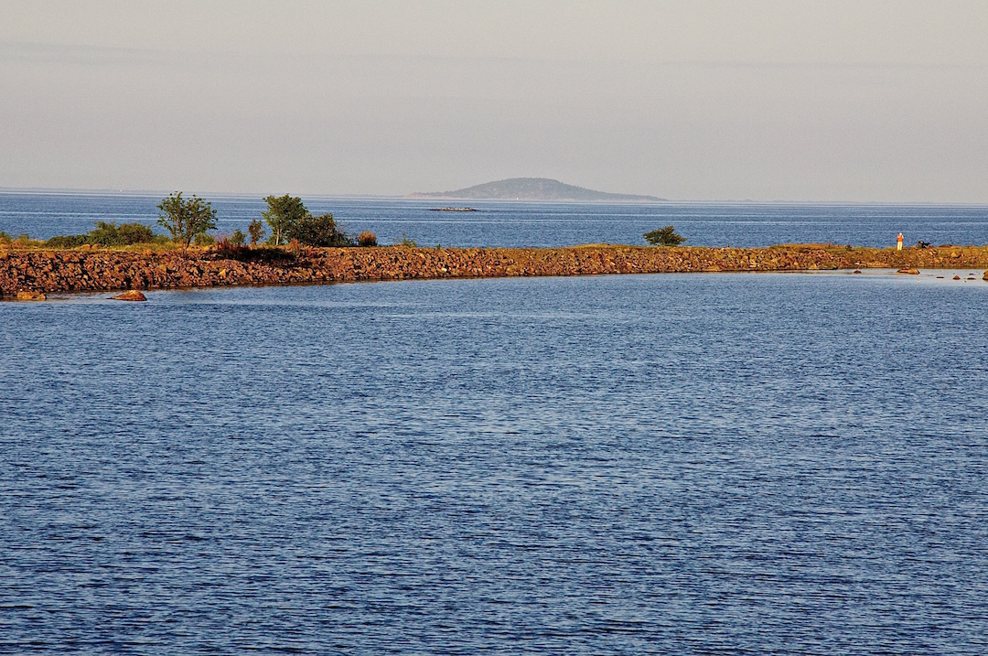 View towards Blå Jungfru island off the Swedish east coast | Cruising Attitude Sailing Blog - Discovery 55