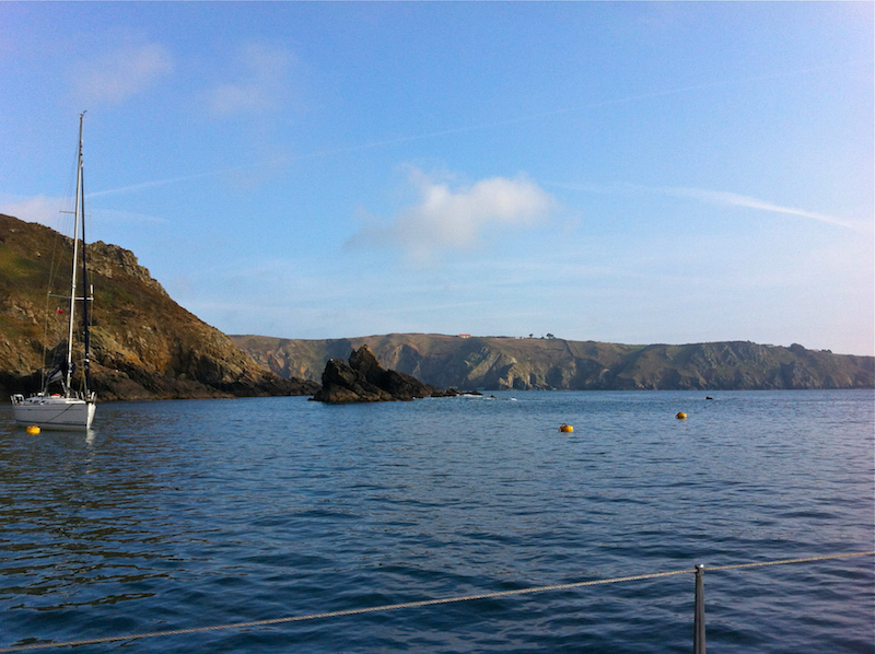 View of Sark, Channel Islands. | Cruising Attitude Sailing Blog - Discovery 55