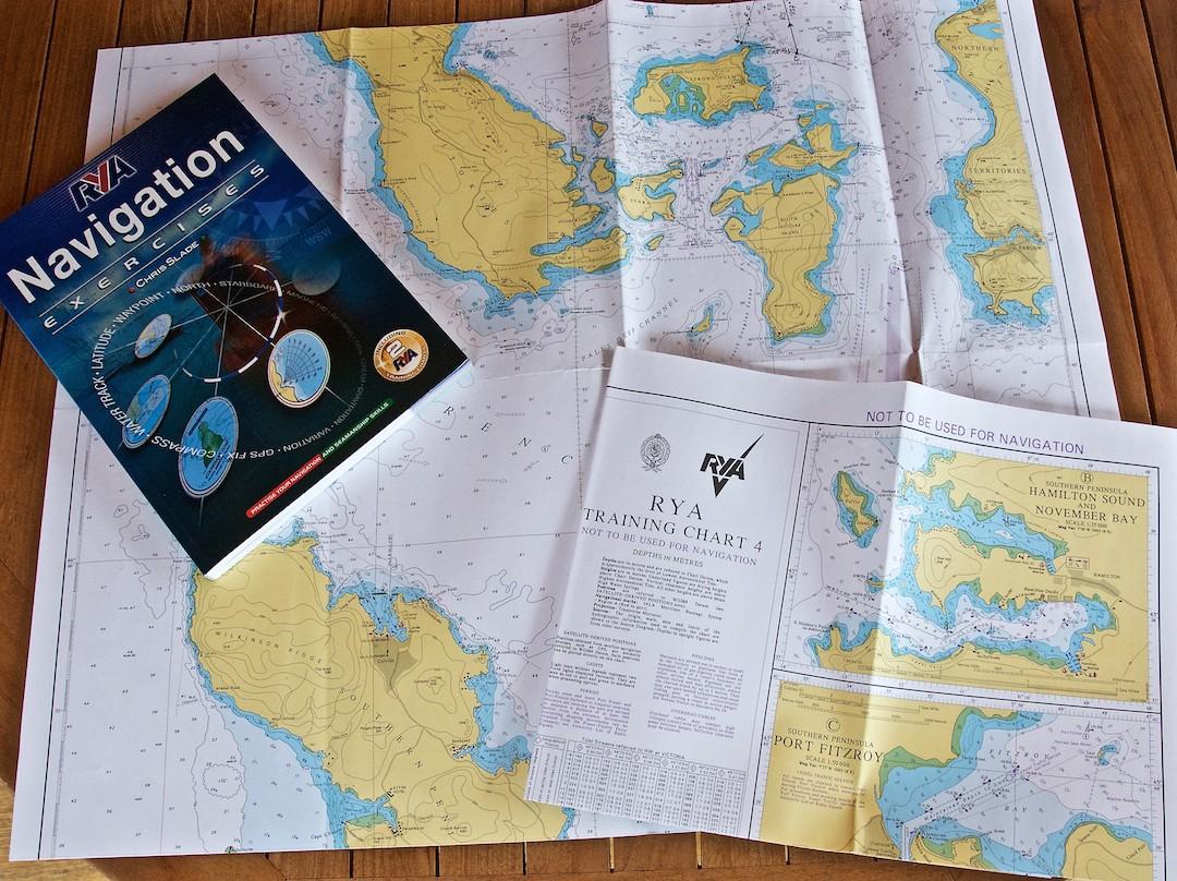 RYA NavigationExercises. Cruising Attitude Sailing Blog - Discovery 55
