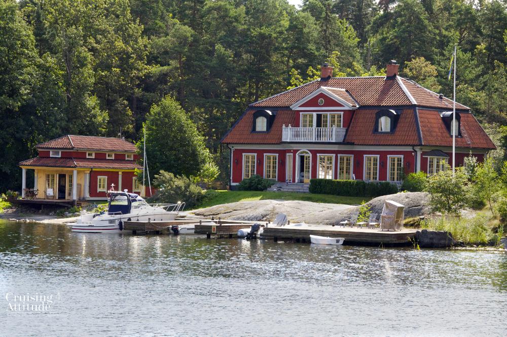 Baggenstäket, Stockholm Archipelago | Cruising Attitude Sailing Blog - Discovery 55