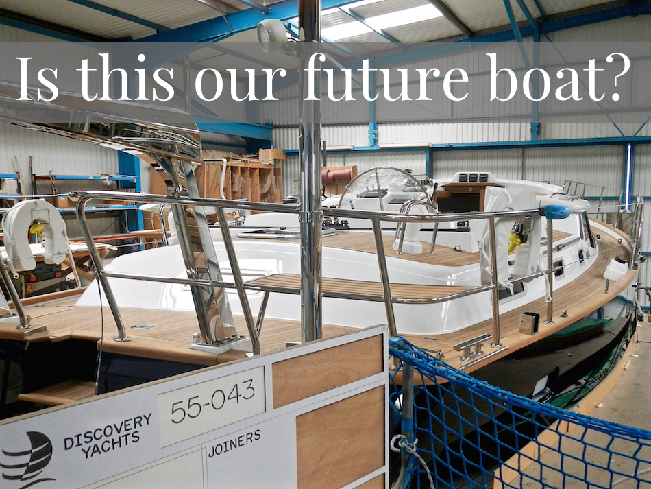 Discovery 55 in build | Cruising Attitude Sailing Blog - Discovery 55