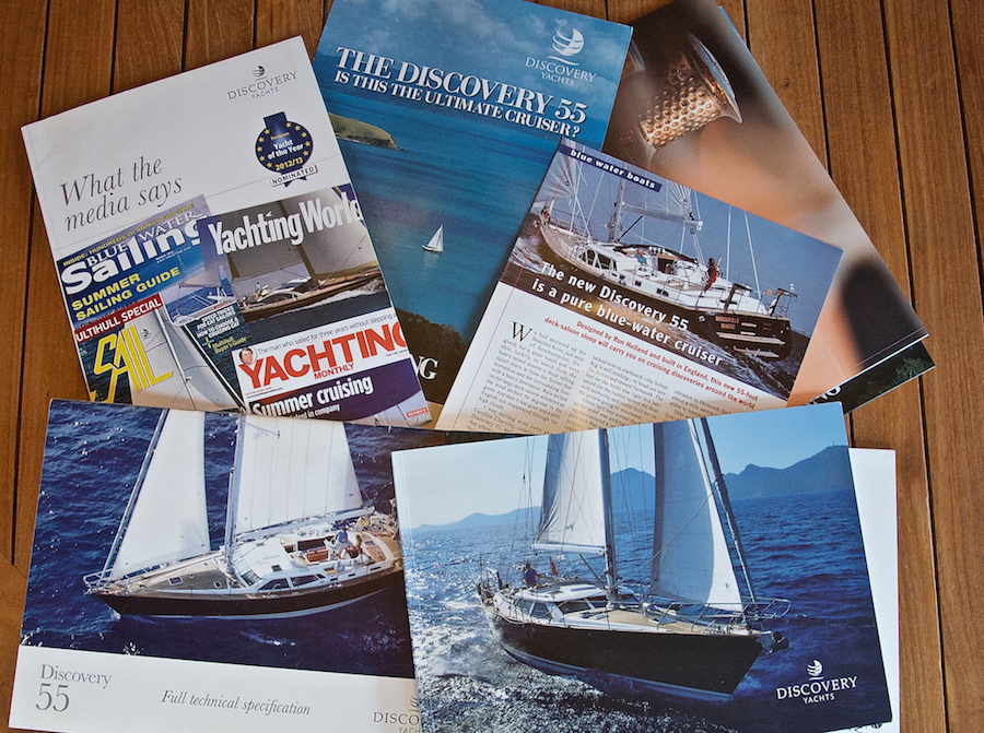 Discovery Yachts Info Pack | Cruising Attitude Blog - Discovery 55