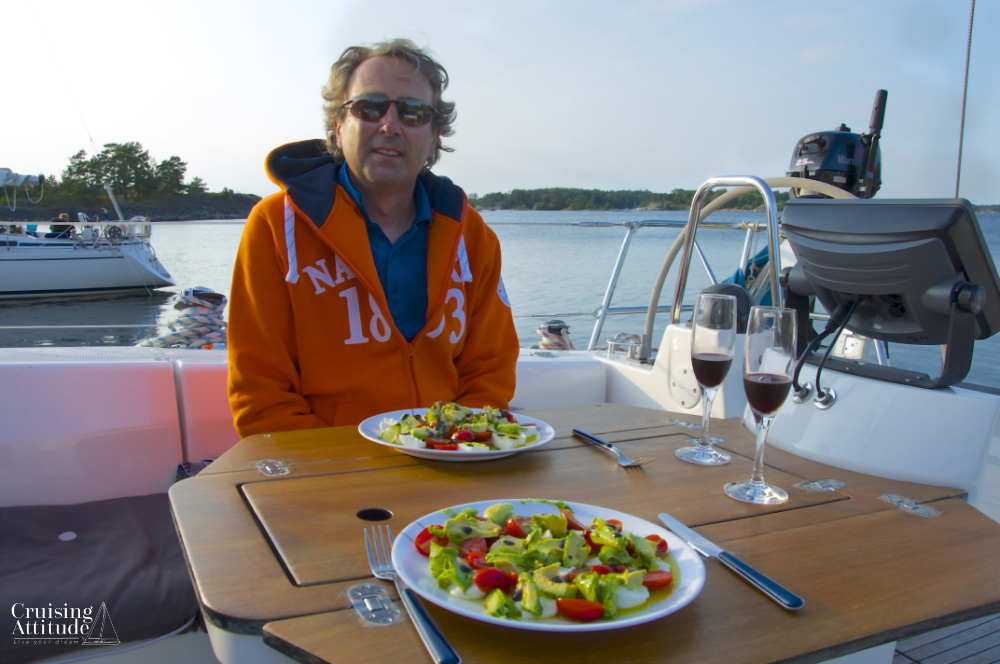 Anchorage at Munkö | Cruising Attitude Sailing Blog - Discovery 55
