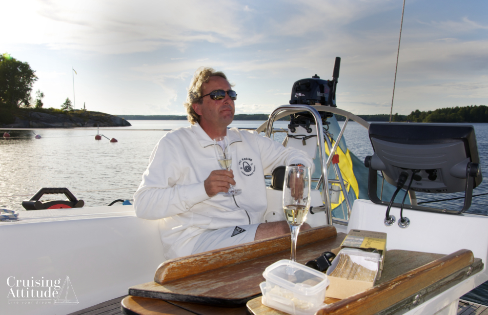 Gräddö marina in the Stockholm Archipelago | Cruising Attitude Sailing Blog - Discovery 55