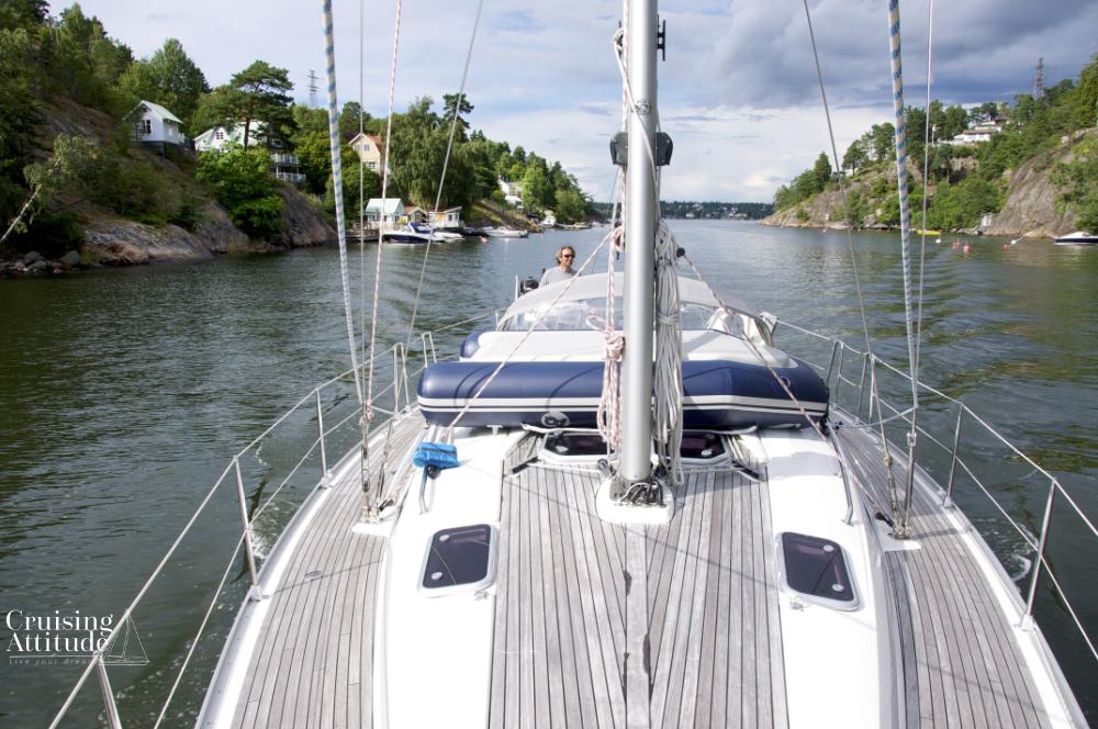 Skurusundet, Stockholm Archipelago | Cruising Attitude Sailing Blog - Discovery 55