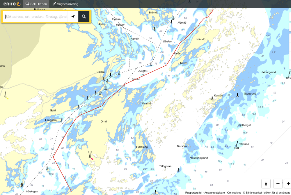 Utö to Munkö, the usual route | Cruising Attitude Sailing Blog - Discovery 55