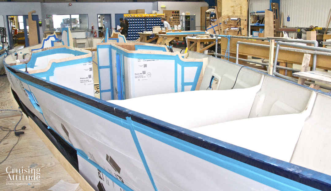 Building a Discovery 55 | Cruising Attitude Sailing Blog