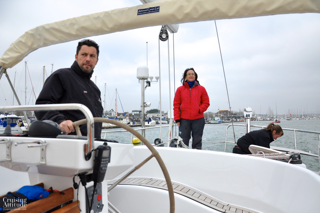 Lymington Harbour | Cruising Attitude Sailing Blog - Discovery 55