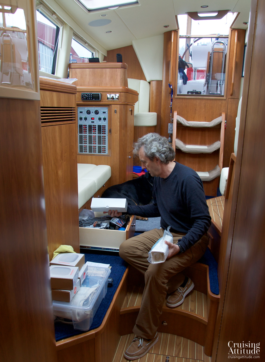 Organising the boat | Cruising Attitude Sailing Blog - Discovery 55