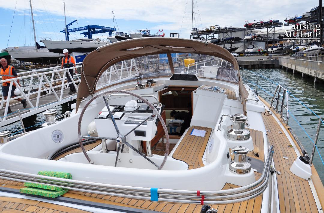 Saxon Wharf | Cruising Attitude Sailing Blog - Discovery 55
