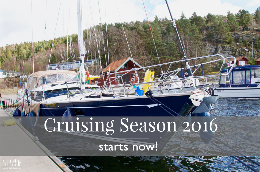 Cruising Season 2016 begins | Cruising Attitude Sailing Blog - Discovery 55