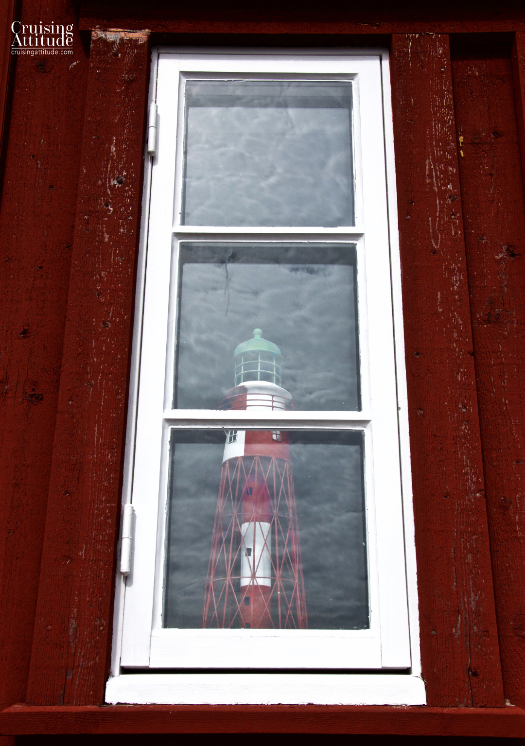 A window in the village of Mollösund | Cruising Attitude Sailing Blog - Discovery 55