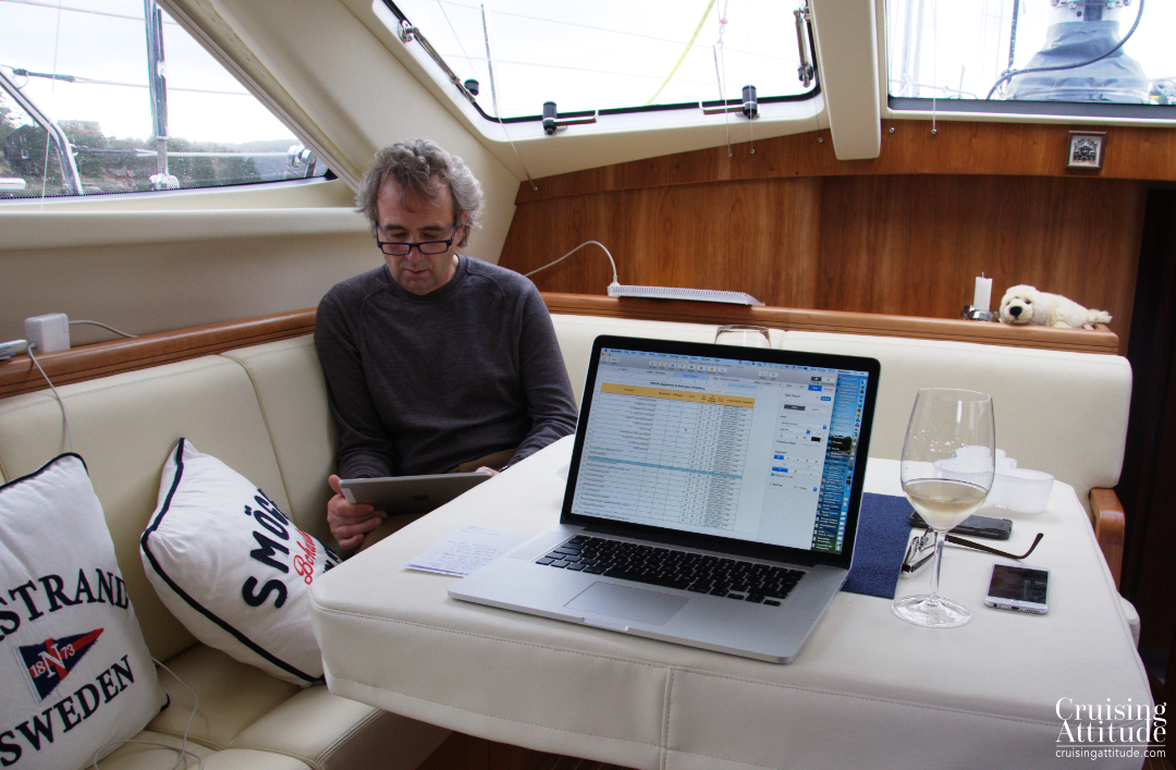 Organising all of your boat parts, tools, and equipment on a spreadsheet. | Cruising Attitude Sailing Blog - Discovery 55