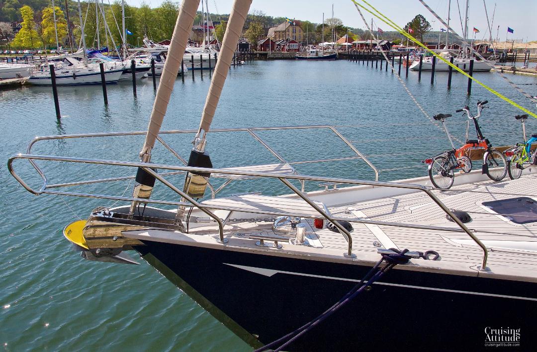 Marina in Båstad, Sweden | Cruising Attitude Sailing Blog - Discovery 55