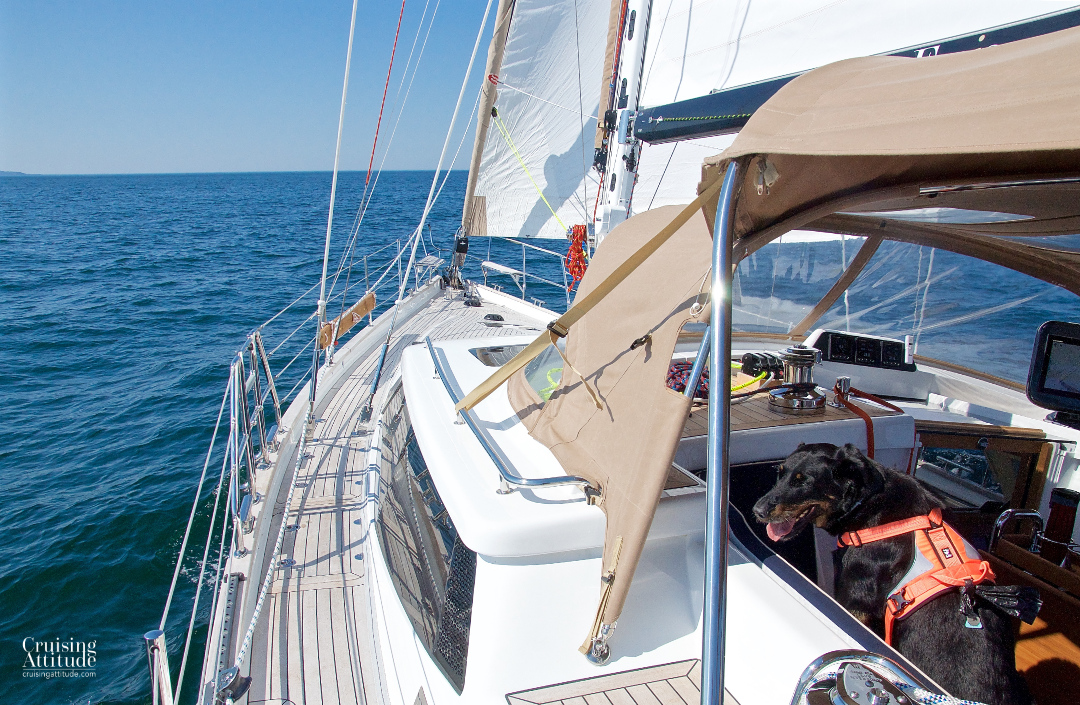 Beautiful sail to Mölle | Cruising Attitude Sailing Blog - Discovery 55