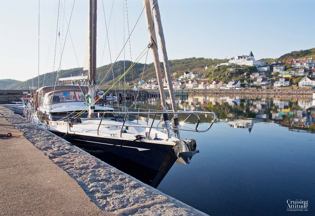 Calm Sunday evening in Mölle marina | Cruising Attitude Sailing Blog - Discovery 55