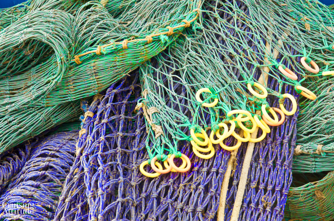 Rörö, Sweden - fishing nets | Cruising Attitude Sailing Blog - Discovery 55