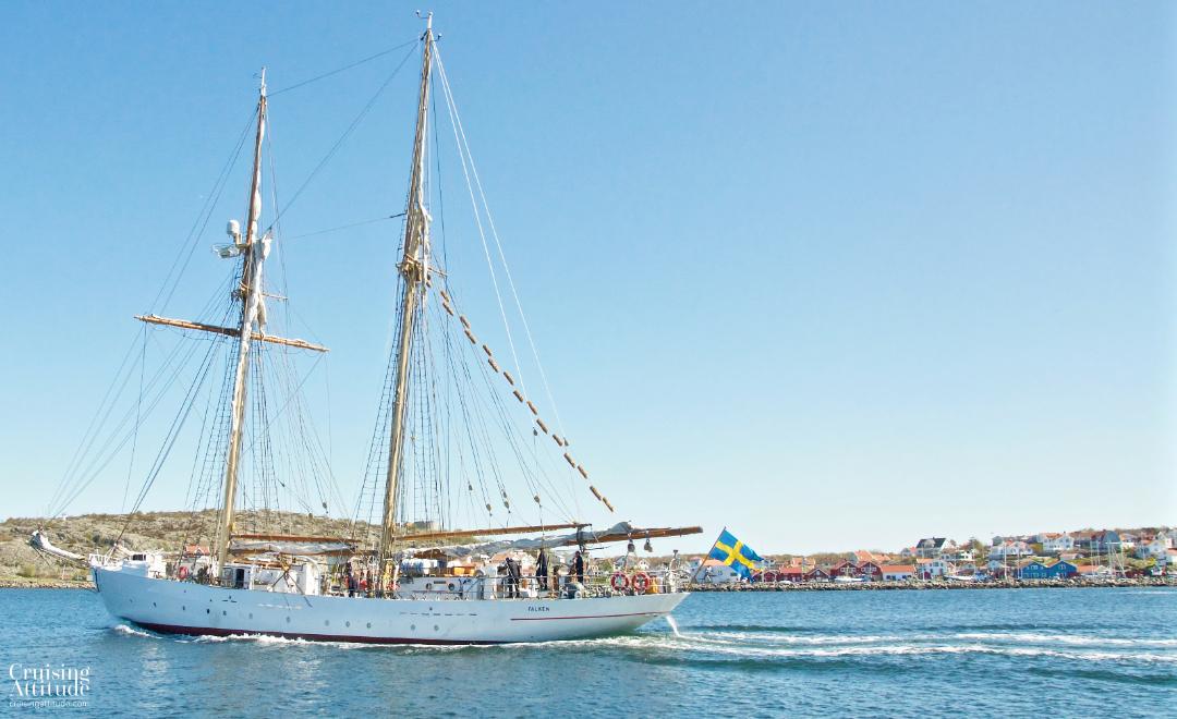 HMS Falken in Göteborg | Cruising Attitude Sailing Blog - Discovery 55
