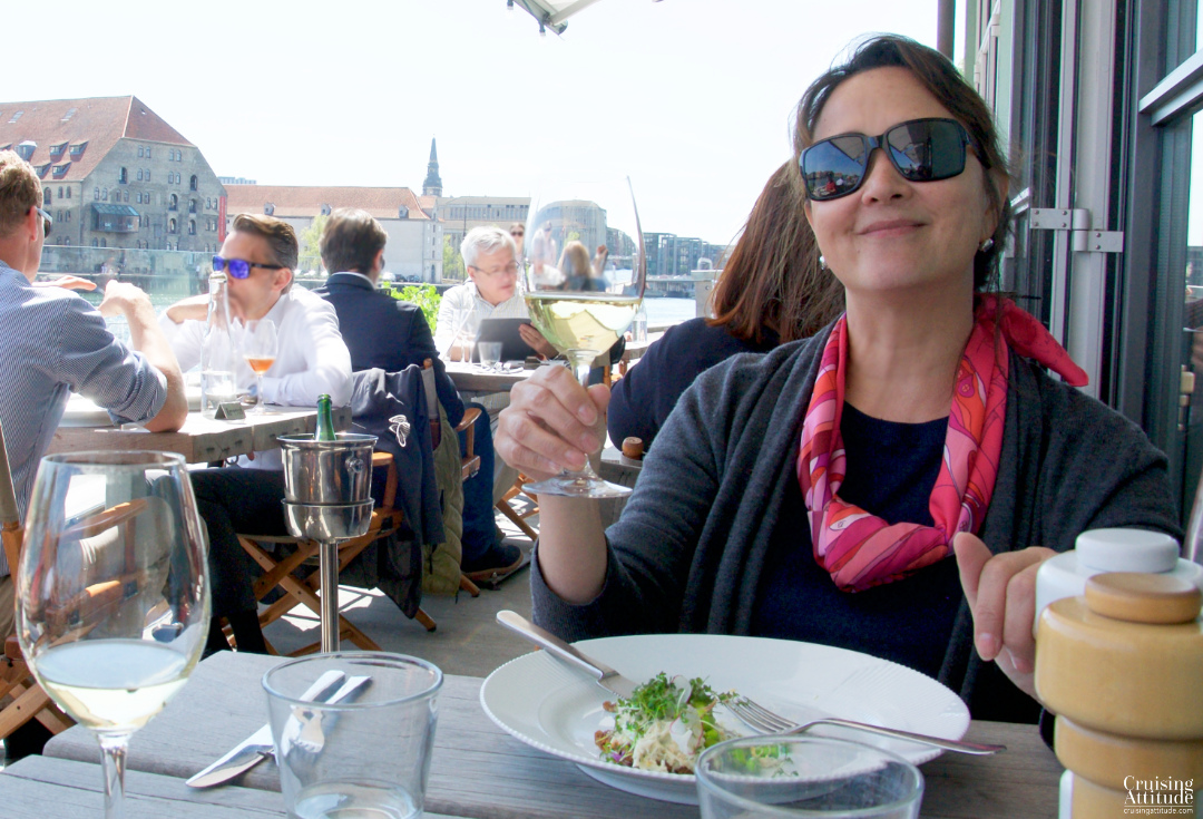 Lunch at Almanak in Copenhagen | Cruising Attitude Sailing Blog - Discovery 55