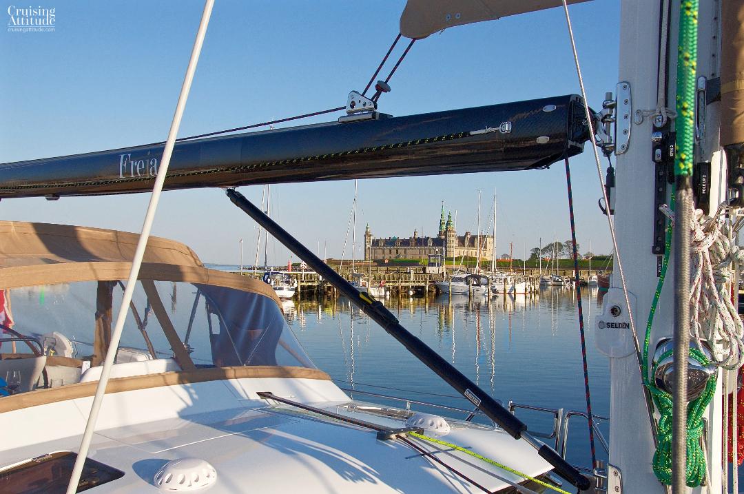 View of Kronborg castle in Helsingør, Denmark | Cruising Attitude Sailing Blog - Discovery 55