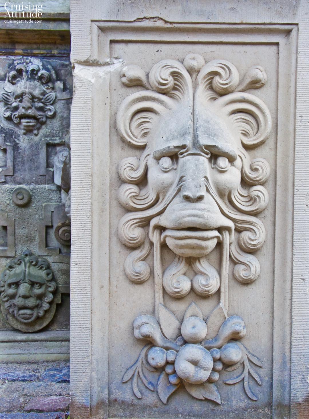 Sculpture at Kronberg Castle in Helsingør, Denmark | Cruising Attitude Sailing Blog - Discovery 55