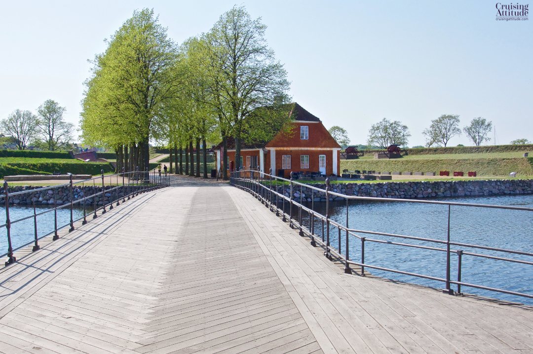 Bridge to Kronoborg castle, Helsingør, Denmark | Cruising Attitude Sailing Blog - Discovery 55