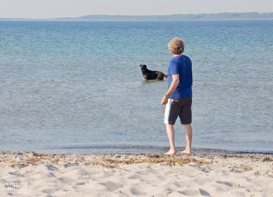 Helsingør, Denmark - beach next to the marina | Cruising Attitude Sailing Blog - Discovery 55