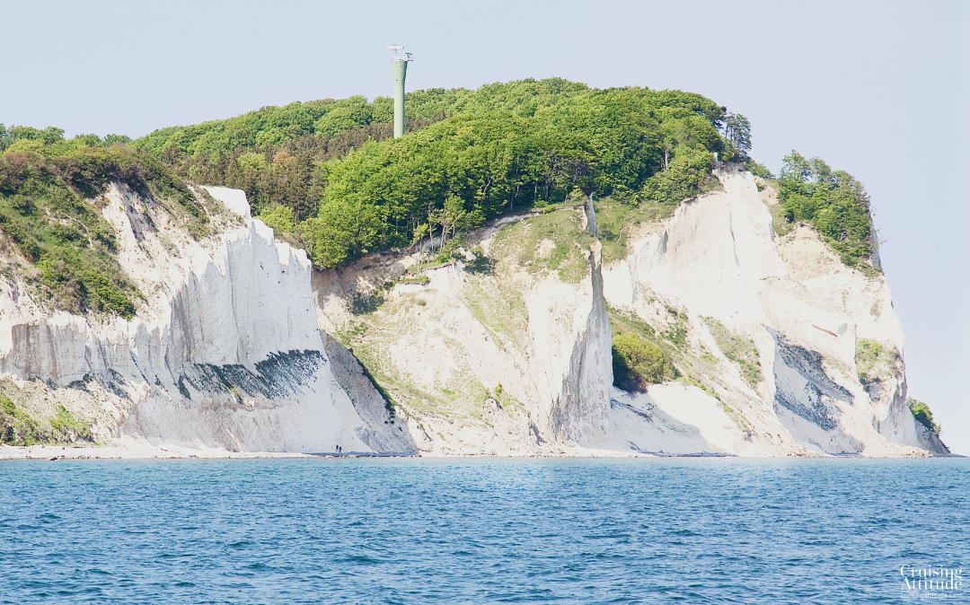 The lighthouse at Møns Klint | Cruising Attitude Sailing Blog - Discovery 55