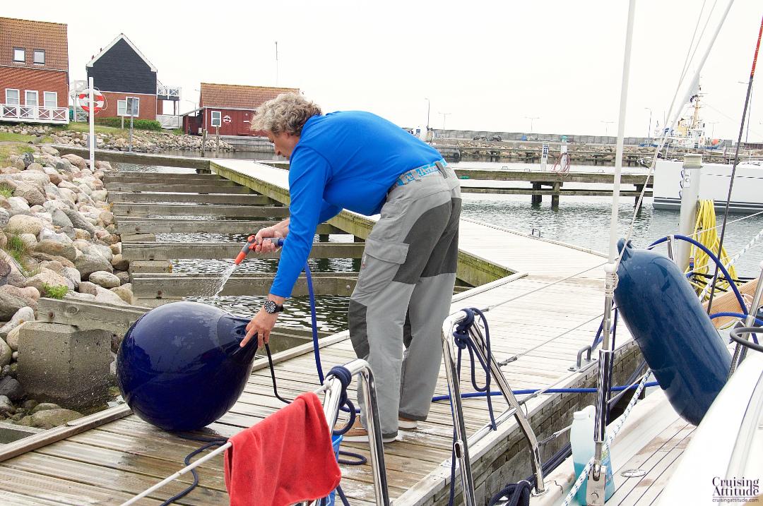 Klintholm marina, island of Møn, Denmark | Cruising Attitude Sailing Blog - Discovery 55