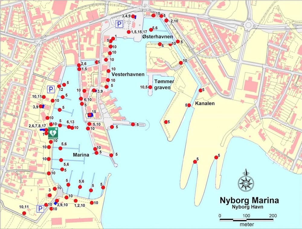 Nyborg Marina | Cruising Attitude Sailing Blog - Discovery 55