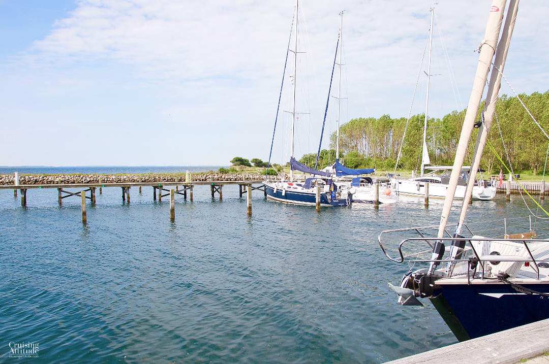 Vejrø marina | Cruising Attitude Sailing Blog - Discovery 55