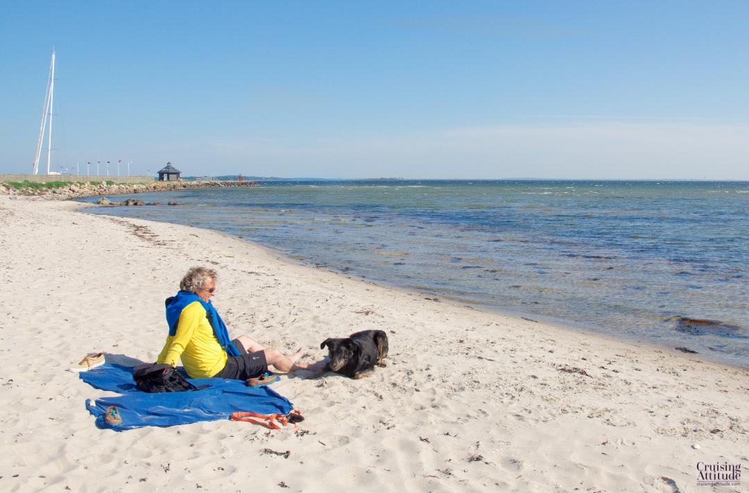 Lynaes beach, Denmark | Cruising Attitude Sailing Blog - Discovery 55