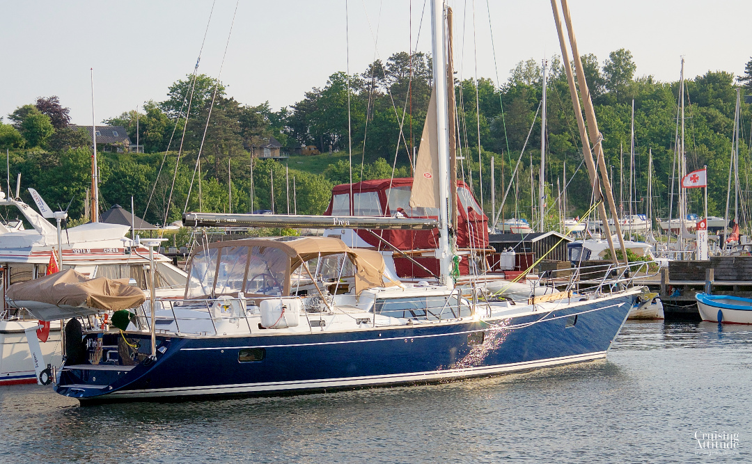 Lynaes marina, Denmark | Cruising Attitude Sailing Blog - Discovery 55