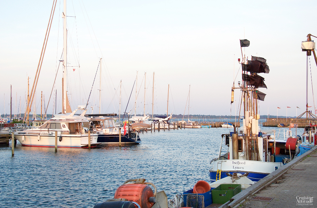 Port of Lynaes, Denmark | Cruising Attitude Sailing Blog - Discovery 55