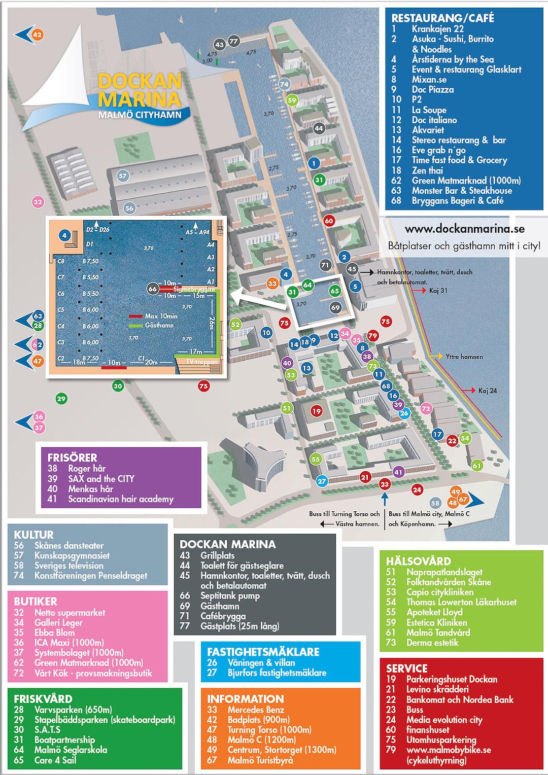 Dockan Marina Guide | Cruising Attitude Sailing Blog - Discovery 55