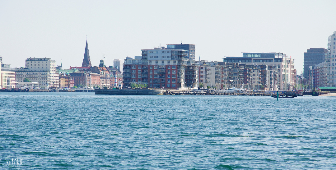 View towards Malmö from the Oresund | Cruising Attitude Sailing Blog - Discovery 55
