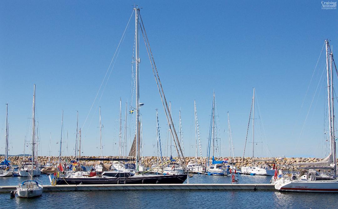 Simrishamn marina | Cruising Attitude Sailing Blog - Discovery 55