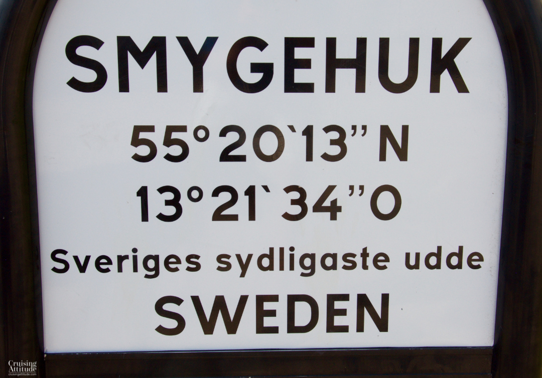 Smygehuk, Sweden | Cruising Attitude Sailing Blog - Discovery 55